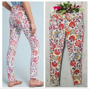 Pilcro and the Letterpress Mid-Rise Skinny Sz 26P